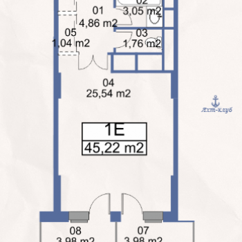 ЖК Маяк (Москва) – планировка №3