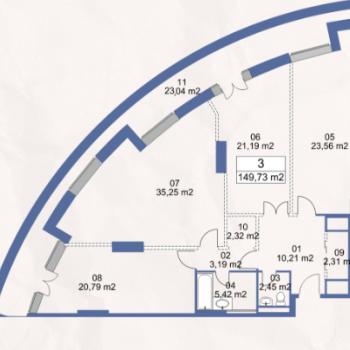 ЖК Маяк (Москва) – планировка №12