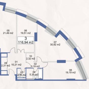 ЖК Маяк (Москва) – планировка №11
