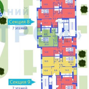 ЖК Первомайское (Москва) – планировка №1