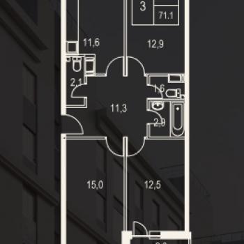 ЖК Олимп (Москва) – планировка №11