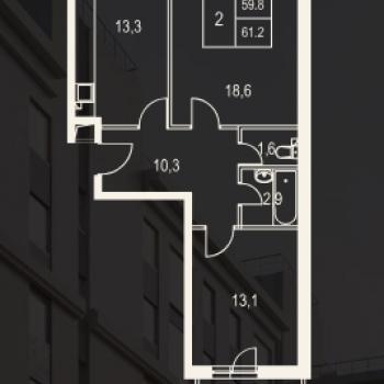 ЖК Олимп (Москва) – планировка №10