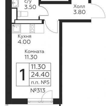 ЖК Новоград Павлино (Москва) – планировка №2
