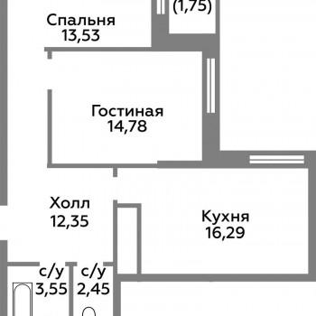 ЖК Новоград Павлино (Москва) – планировка №11