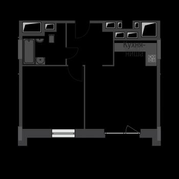 ЖК Резиденции Архитекторов (Москва) – планировка №3