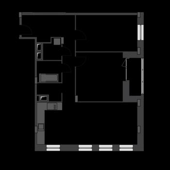 ЖК Резиденции Архитекторов (Москва) – планировка №2