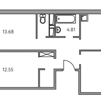 ЖК Малина (Москва) – планировка №9