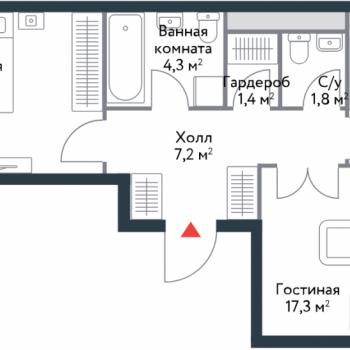 ЖК Ривер Парк (Москва) – планировка №6