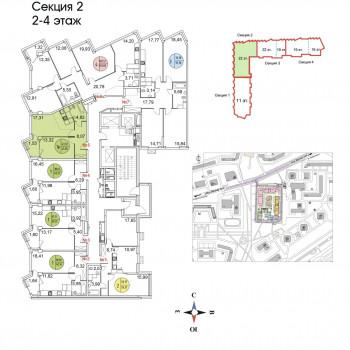 ЖК Тополя (Москва) – планировка №2