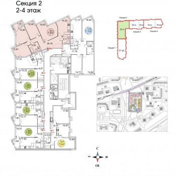 ЖК Тополя (Москва) – планировка №15