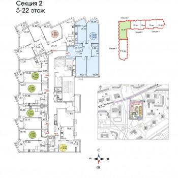 ЖК Тополя (Москва) – планировка №14
