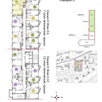 ЖК Тополя (Москва) – планировка №12