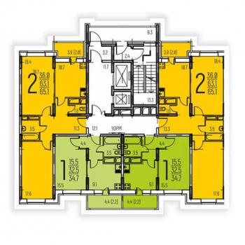 ЖК Афродита (Москва) – планировка №5