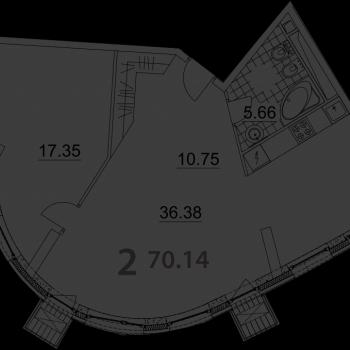 ЖК Нахимов (Москва) – планировка №5