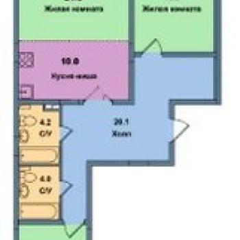 ЖК Малая Истра (Москва) – планировка №6