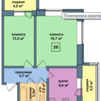 ЖК Малая Истра (Москва) – планировка №4