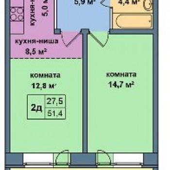 ЖК Малая Истра (Москва) – планировка №2
