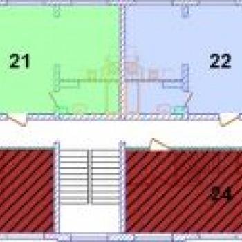 ЖК Северная резиденция (Мурманск) – планировка №4