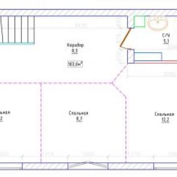 ЖК Северная резиденция (Мурманск) – планировка №2