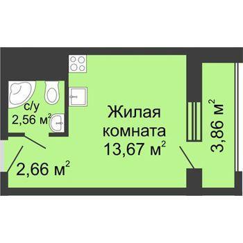 ЖК Москва Градъ (Нижний Новгород) – планировка №6