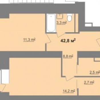 ЖК Дом на Иванова (Нижний Новгород) – планировка №7
