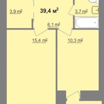 ЖК Дом на Иванова (Нижний Новгород) – планировка №11