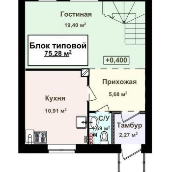 Коттеджный поселок Ждановский (Нижний Новгород) – планировка №4