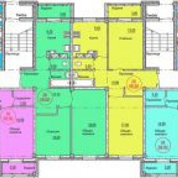 ЖК Кстовские дворики (Нижний Новгород) – планировка №2