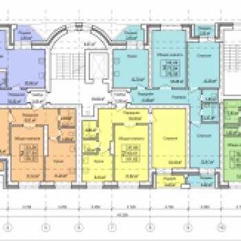 Жилой дом №2Б, МР Верхние Печеры (Нижний Новгород) – планировка №2