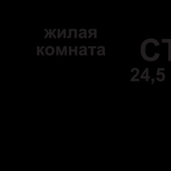 ЖК Подкова на Родионова (Нижний Новгород) – планировка №5