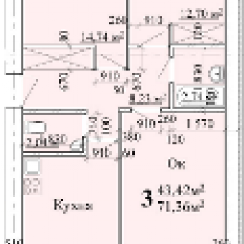 ЖК АВИА (Нижний Новгород) – планировка №2