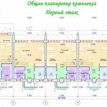 КП Фроловский (Нижний Новгород) – планировка №1