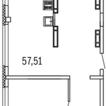 ЖК Дом с террасами (Нижний Новгород) – планировка №3