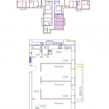 Дом на Космонавтов (Новгород) – планировка №9