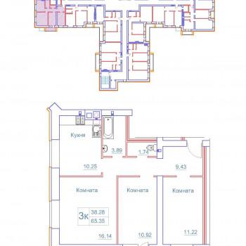 Дом на Космонавтов (Новгород) – планировка №8