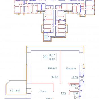 Дом на Космонавтов (Новгород) – планировка №6