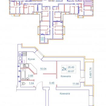 Дом на Космонавтов (Новгород) – планировка №5