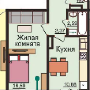 ЖК Плющихинский квартал (Новосибирск) – планировка №4