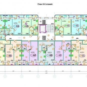 ЖК Новый дом (Омск) – планировка №2