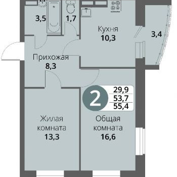 Микрорайон Болховский (Орёл) – планировка №2