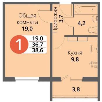 Микрорайон Болховский (Орёл) – планировка №1