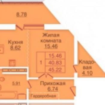 ЖК Панорама (Орёл) – планировка №3