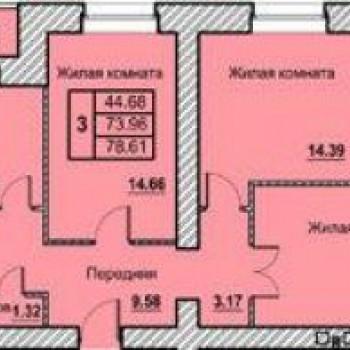 ЖК по Солнечный берег (Орёл) – планировка №2