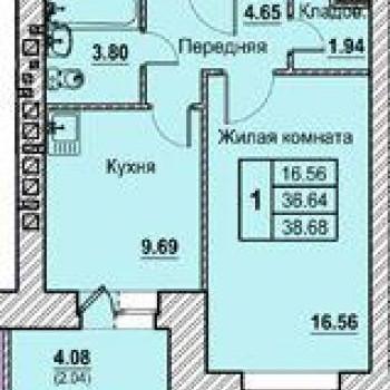 ЖК по Солнечный берег (Орёл) – планировка №3