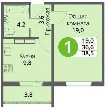Микрорайон Зареченский (Орёл) – планировка №2