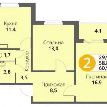 Микрорайон Зареченский (Орёл) – планировка №3