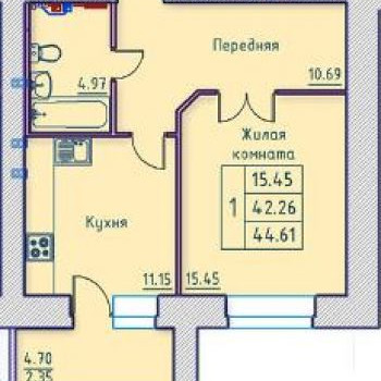 Жилой дом по ул. Октябрьская (Орёл) – планировка №3