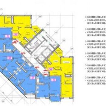 ЖК мкр. Заводской (Оренбург) – планировка №3