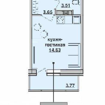 ЖК Пионер (Пермь) – планировка №1