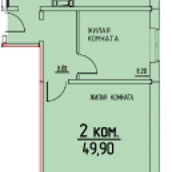 ЖК Белые росы (Пермь) – планировка №3